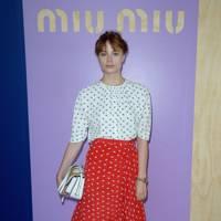 Miu Miu show - October 5 2016