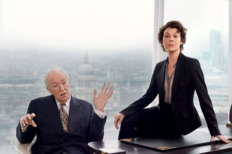Helen Mccrory And Michael Gambon Vogue Interview British