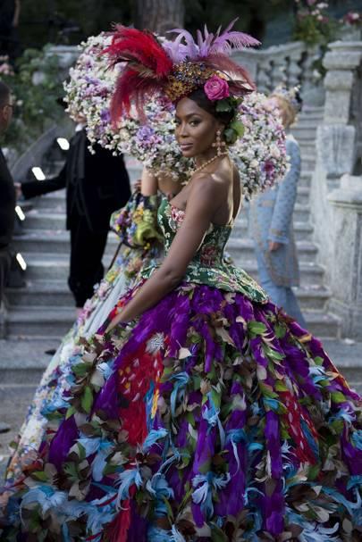 wholesale dealer 91e29 94411 Dolce & Gabbana - Alta Moda Autumn/Winter 2018 Couture show ...