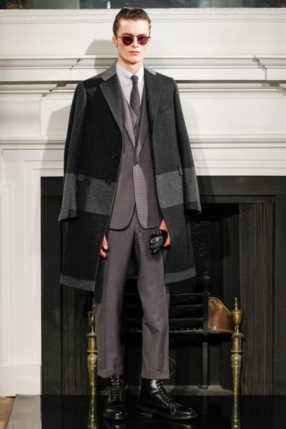 ad89548901 Hardy Amies Autumn Winter 2013 Menswear show report