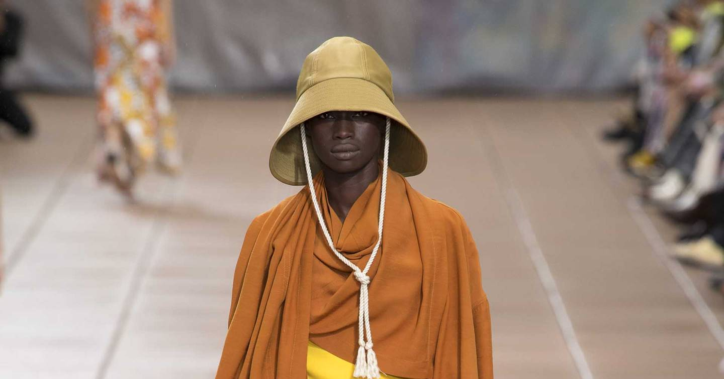 31 Phillip Lim Spring Summer 2019 Ready To Wear Show Report Catriona Keily Top Handle Bag Brown British Vogue