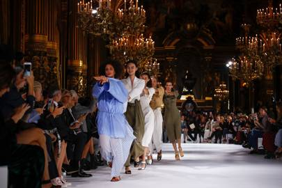 1a544a7022 Suzy Menkes reviews Stella McCartney spring summer 2017 Paris ...