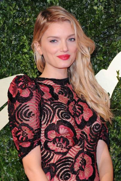 British Fashion Awards, December 2013