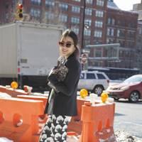 Irene Kim, model