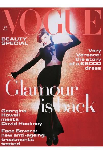 Vogue cover, November 1993