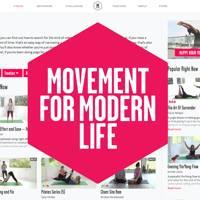 Movement for Modern Life - Online Yoga & Wellbeing Platform