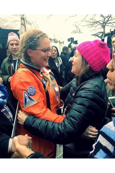 Amy Schumer and Lena Dunham
