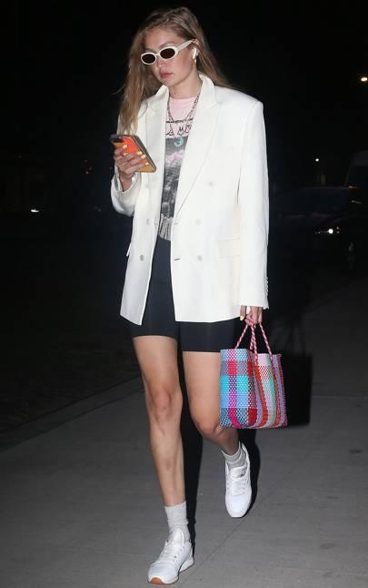 Gigi Hadid Fangirls Over Taylor Swift x Stella McCartney Merch First