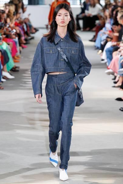 Summer 2018 fashion trends denim dress