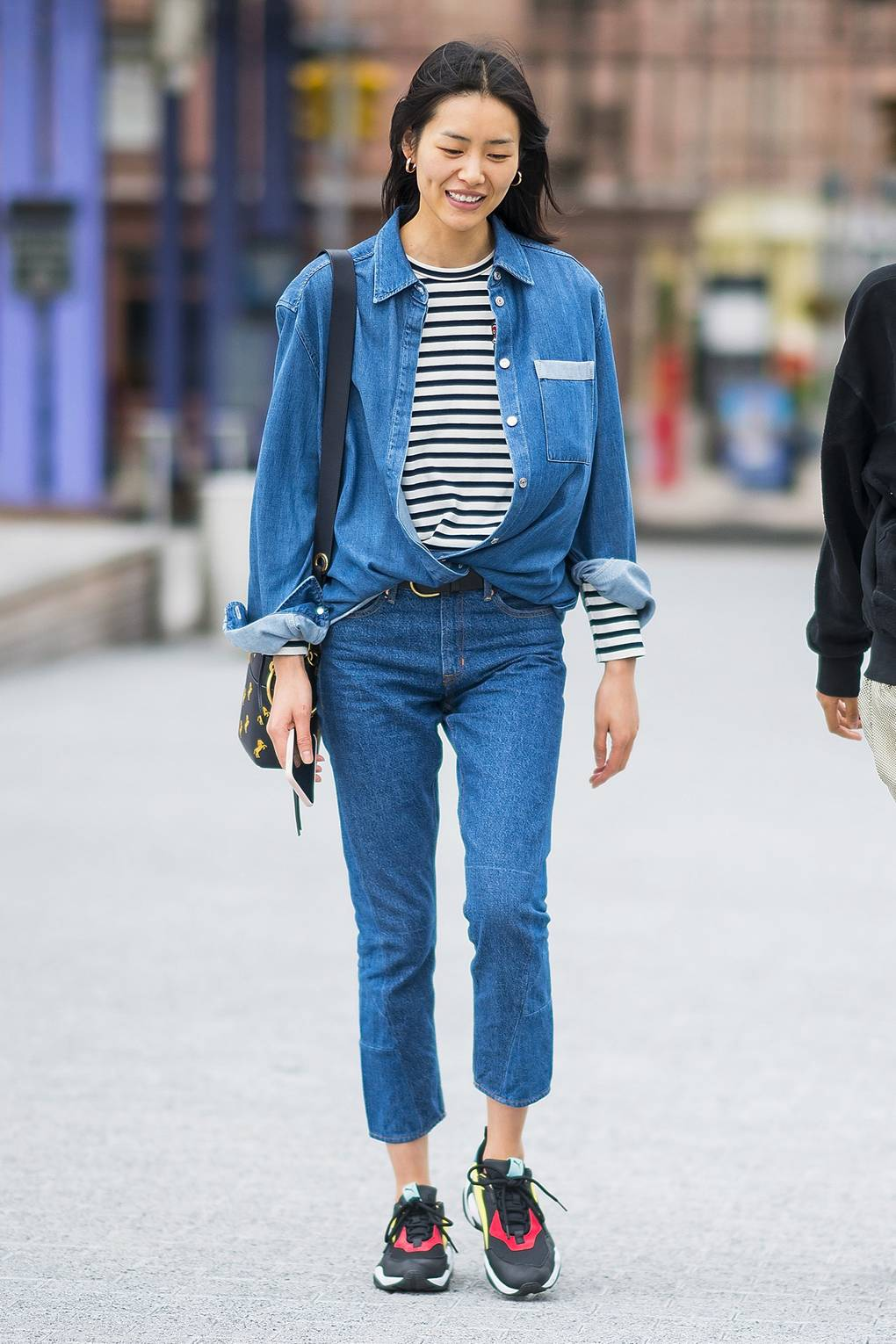 cf48efee66 The Best Celebrity Double Denim Looks Of All Time | British Vogue