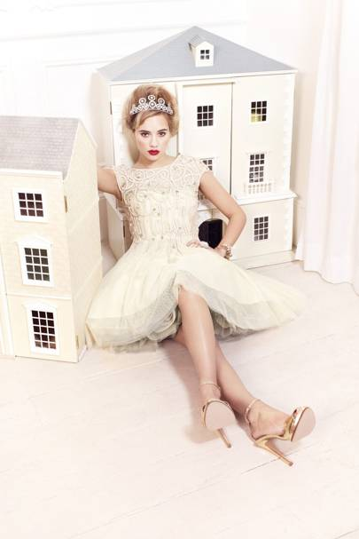 Daphne dress, £550