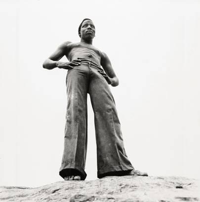 Sur Les Rochers Du Fleuve Niger, 1971