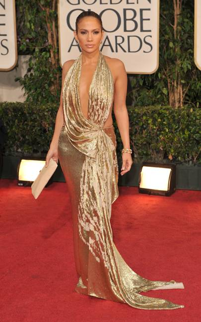 Jennifer Lopez at the 2009 Golden Globes