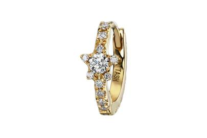 Maria Tash Diamond Star Eternity Ring, £556