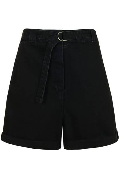 Black shorts, £50