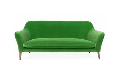 On The Other Hand For Those Wanting To Really Pack An Interior Punch Wallis Sofa Part Of Heal S Collaboration With Designer Rus Pinch Is