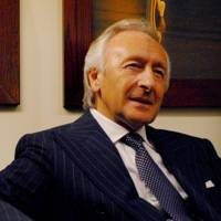 Harold Tillman, entrepreneur and former chairman of the British Fashion Council