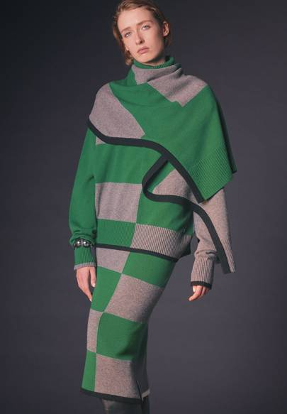 Layered knits are now a thing
