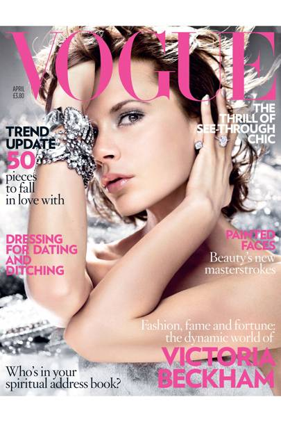 Vogue cover, April 2008