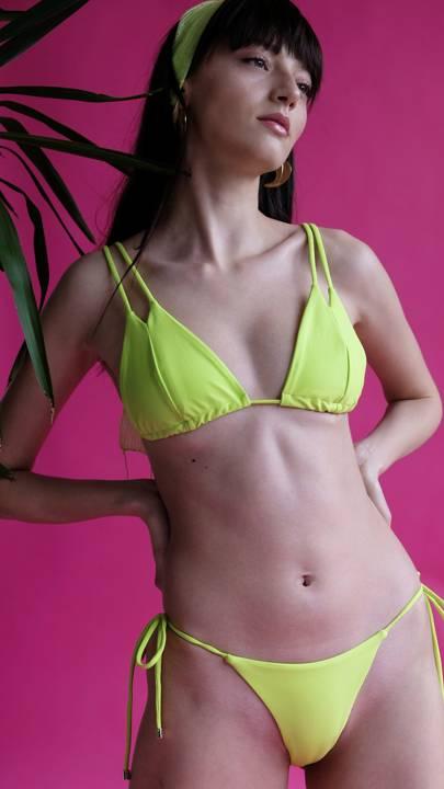 'I Need A Cocktail' Bikini by The Nudist