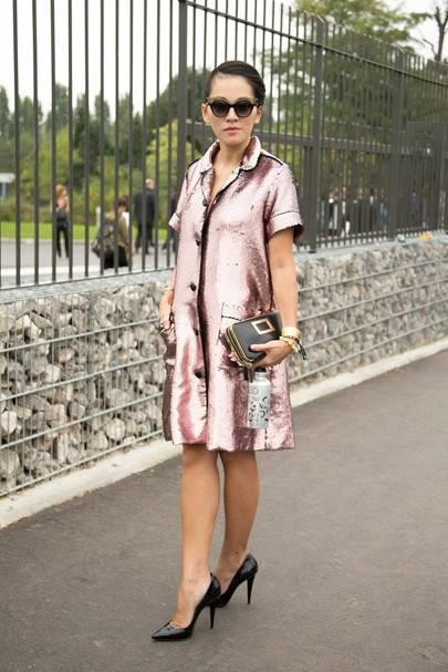 Tina Leung, stylist and writer