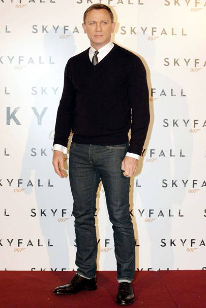 25. Actor Daniel Craig