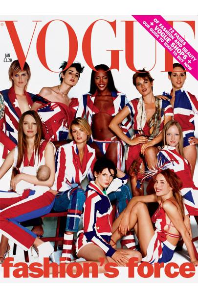 Vogue Cover, January 2002