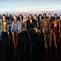Olivier Rousteing's Balmain teamed up with L'Oréal Paris