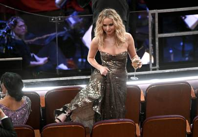 Jennifer Lawrence had the best time