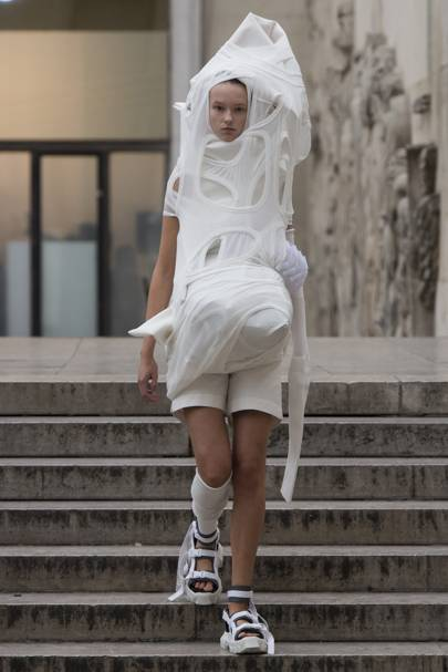 Deconstructed Mummy: Rick Owens