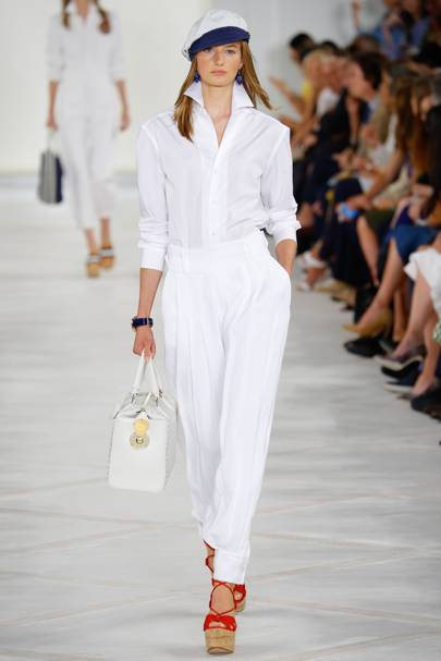a6fb8127 Ralph Lauren Spring/Summer 2016 Ready-To-Wear show report | British ...