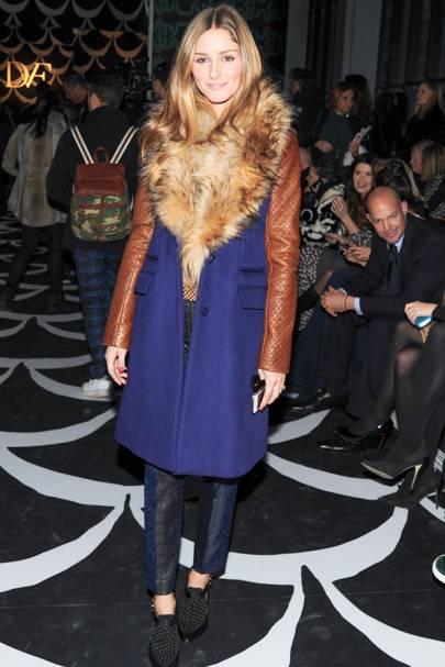 Diane von Furstenberg show - February 9 2014