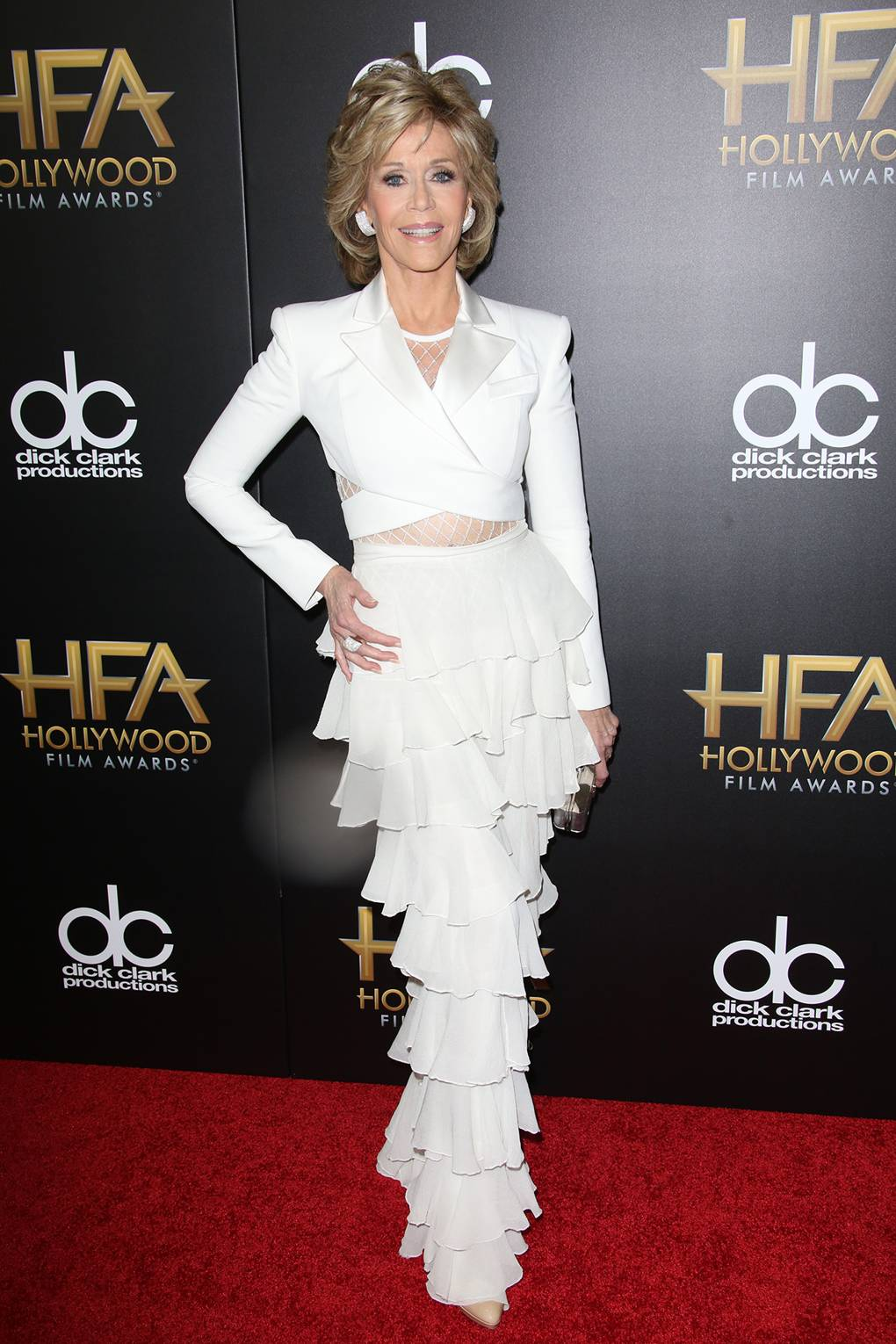 561ec09a67b2 Jane Fonda Red Carpet Style