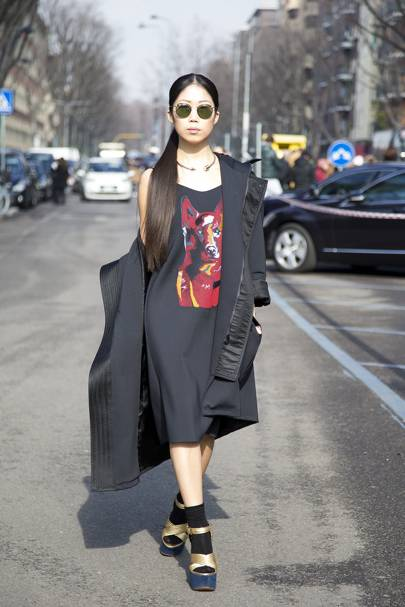 Oksana On, fashion editor