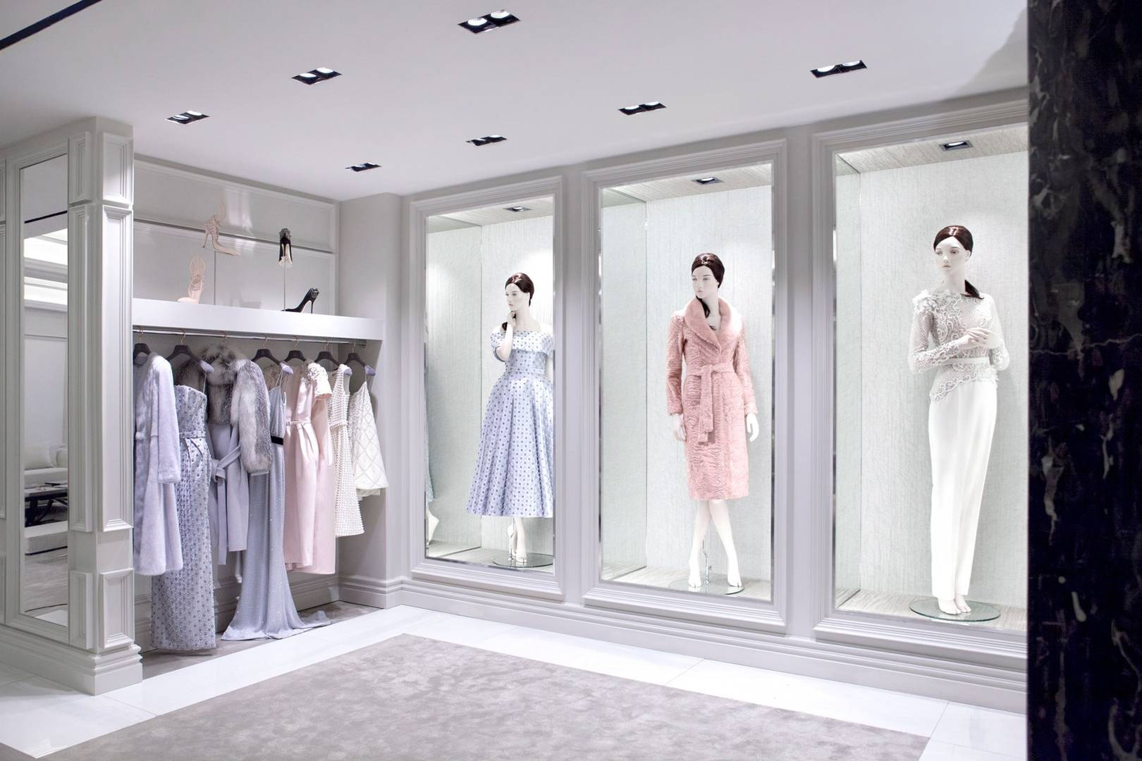 Ralph and Russo Harrods Boutique Superbrands Space | British Vogue