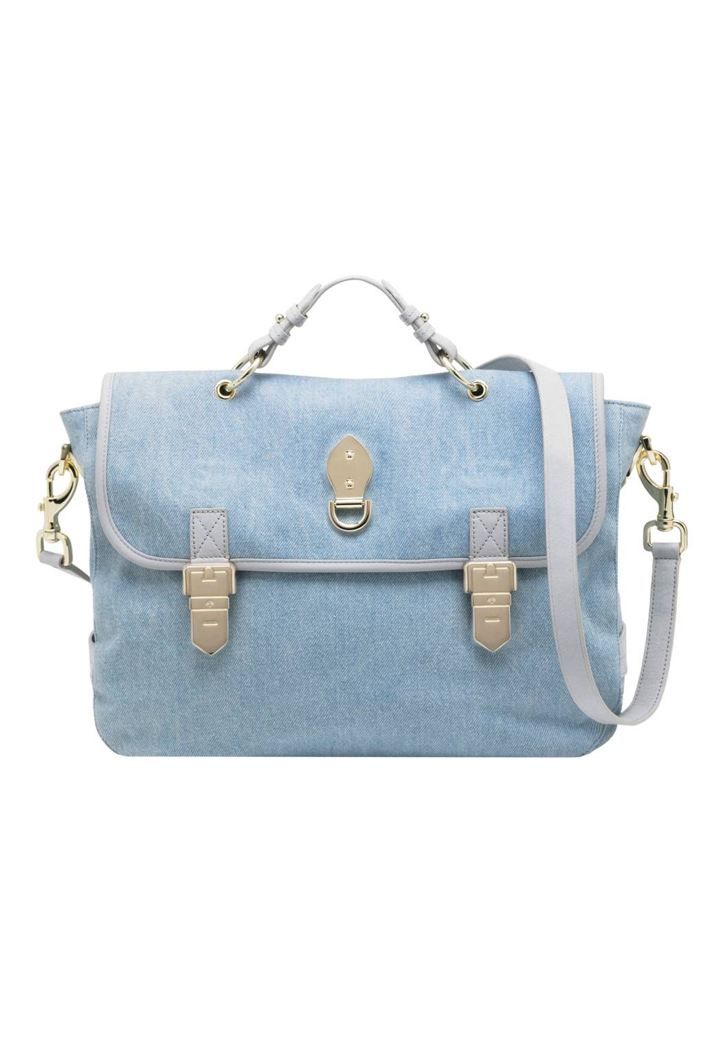 Mulberry Tillie Bag Emma Hill On New Alexa And Bayswater British Tote Blue Print Vogue