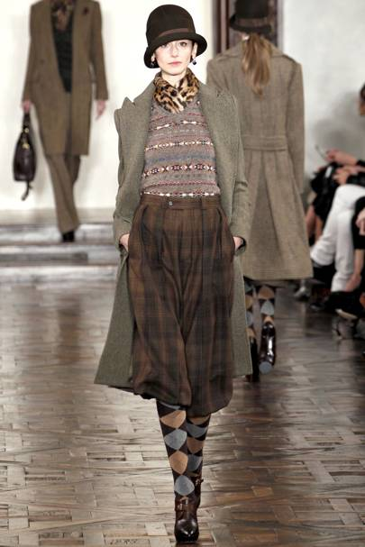 f1b81f3cc7d178 Ralph Lauren Autumn Winter 2012 Ready-To-Wear show report   British Vogue