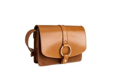 & Other Stories gold ring shoulder satchel bag