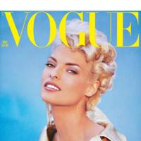 Vogue Cover, August 1991