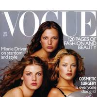 Bridget Hall - Vogue September 1998