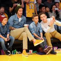 The Lakers Game, Los Angeles – 2012