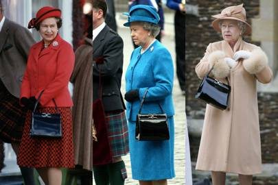The Queen's Launer handbag