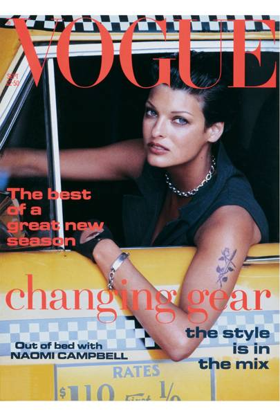 Vogue Cover, September 1992
