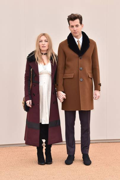Burberry menswear show, London - January 11 2016