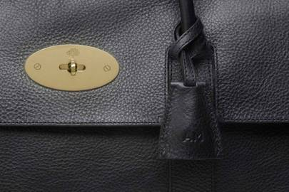 The Mulberry Piccadilly Bag, embossed for Angela Merkel