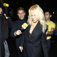 Pamela Anderson at the Pat McGrath Party