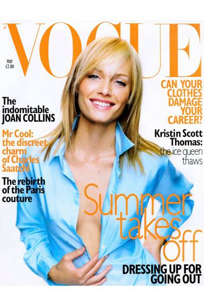 Vogue Cover, May 1996