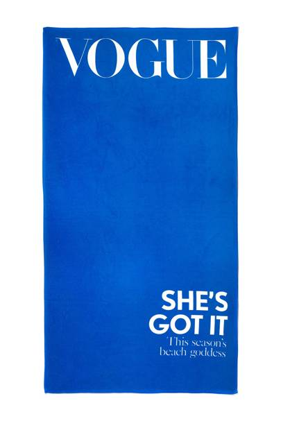 Drye & Vogue cover towel