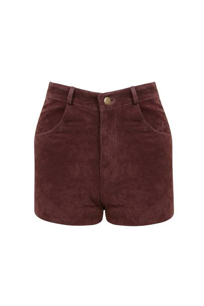 The Suede Shorts