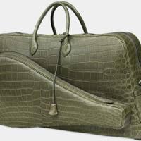 Hermès' crocodile bag